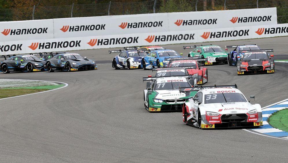Die DTM tritt in Japan mit sieben Autos an. - Bildquelle: imago images/eu-images