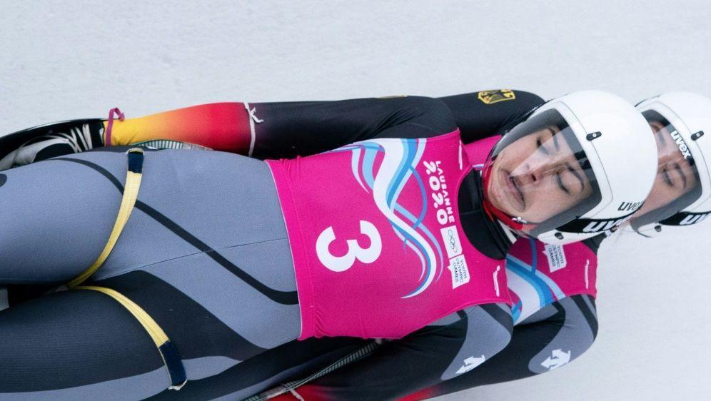 Rodeln: Frauen-Doppelsitzer soll 2026 olympisch werden - Bildquelle: AFP PHOTO  OISIOC  Thomas LOVELOCKSID