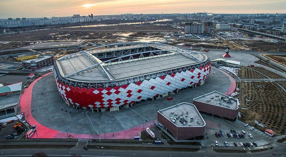 4. Spartak-Stadion (Moskau) - Bildquelle: imago/ITAR-TASS