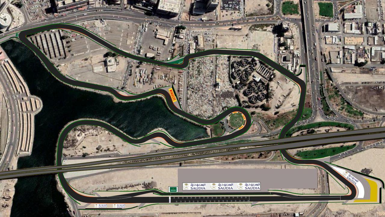 Jeddah Street Circuit (Saudi-Arabien) - Bildquelle: www.eraveng.com