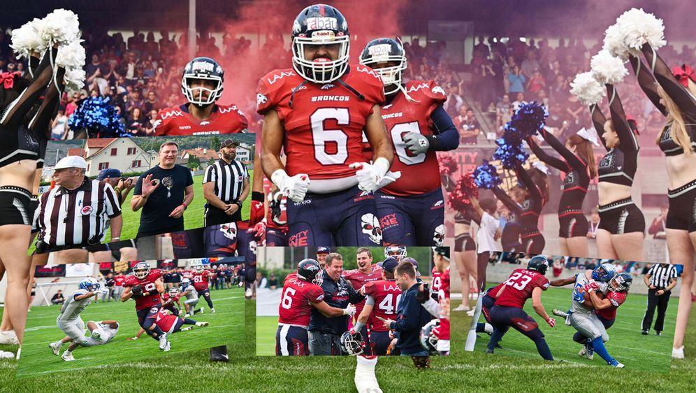 Eine Klasse für sich: Die Calanda Broncos haben auf eigenem Platz ihren zehn... - Bildquelle: Kaulphotographs, Marcel Kaul