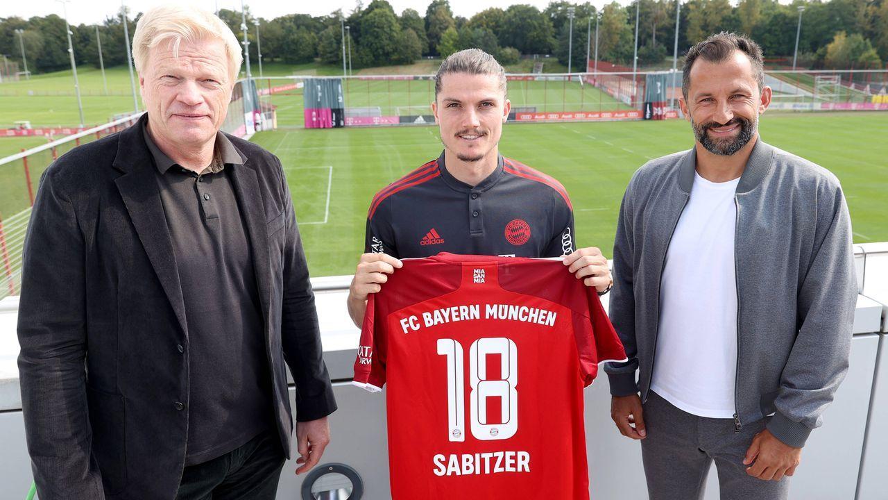 Julian Nagelsmann und Marcel Sabitzer - Bildquelle: imago images/FC Bayern München