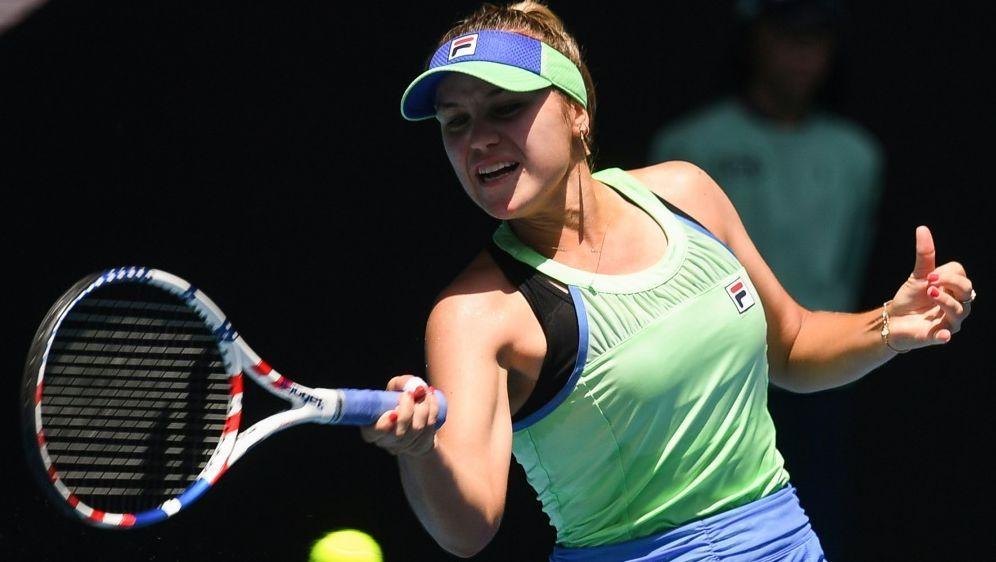 Sofia Kenin hat ihren ersten Grand-Slam-Titel gewonnen - Bildquelle: PIXATHLONPIXATHLONSID