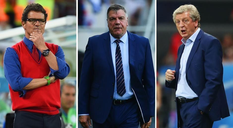 Fünf Trainer für England - Bildquelle: getty images