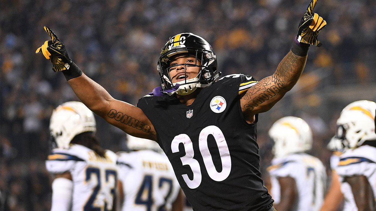 105. Pick 2017: RB James Conner (Pittsburgh Steelers) - Bildquelle: getty