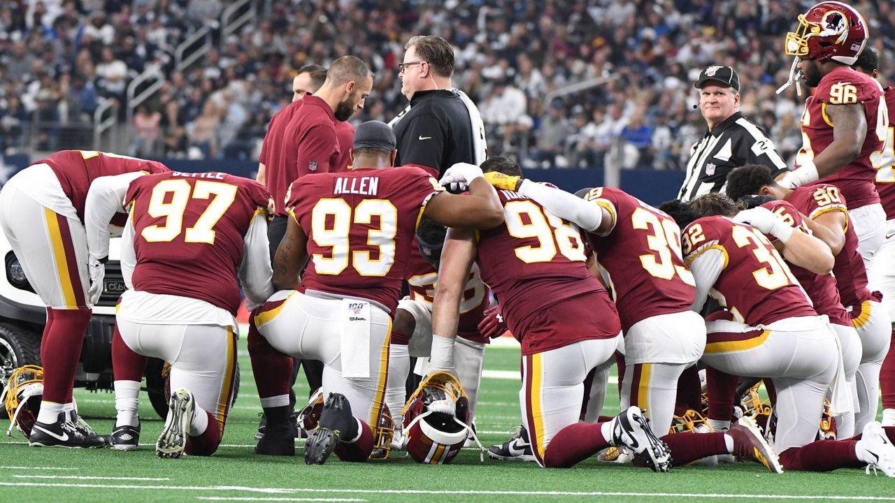Washington Redskins: Die Wettquoten für den neuen Namen - Bildquelle: imago