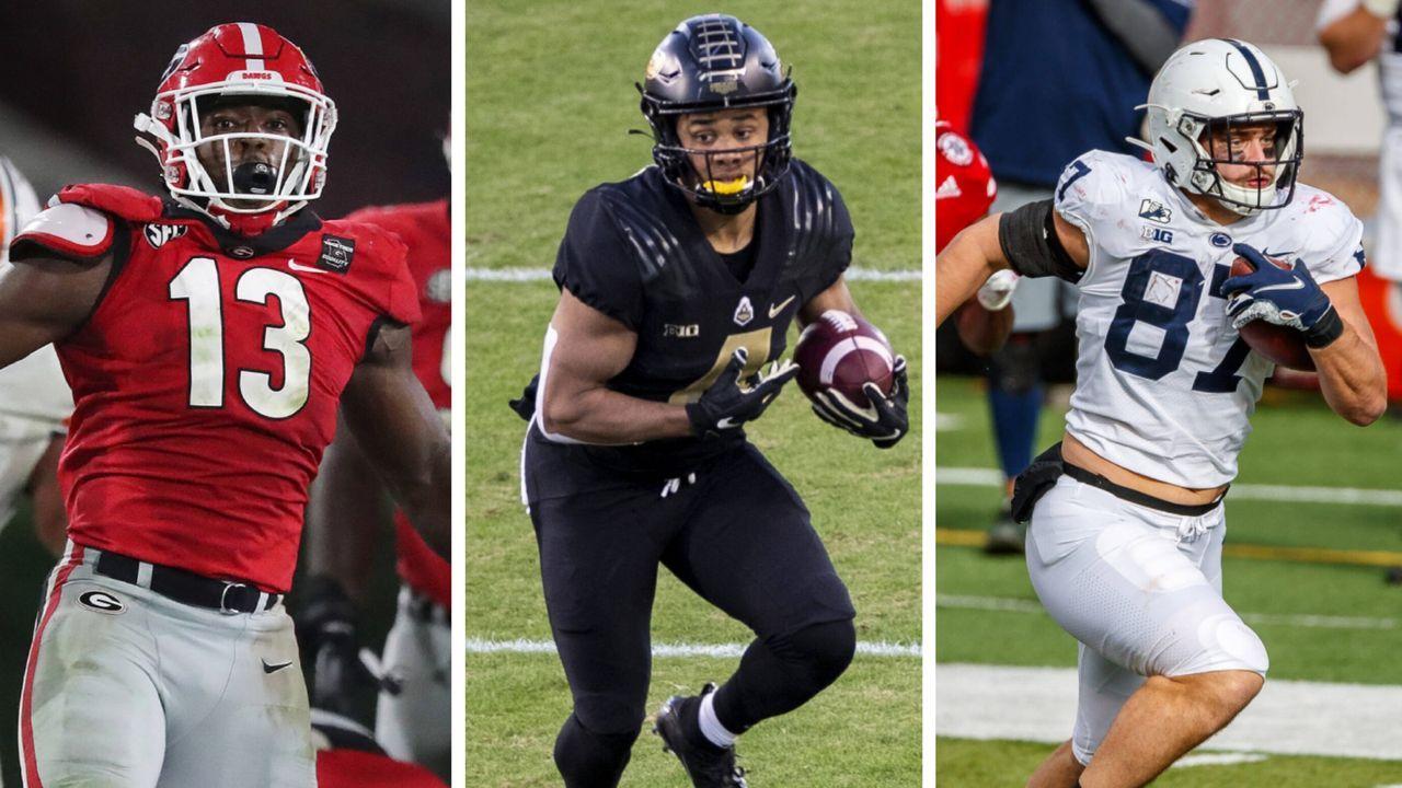 Ojulari, Moehrig, Bolton und Co.: Diese Top-Spieler warten noch an Tag zwei des NFL Draft - Bildquelle: Imago