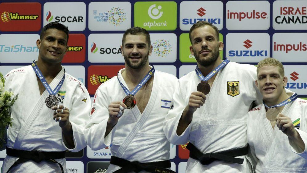 Am Donnerstag startet die Judo-EM in Prag - Bildquelle: AFPSIDJACK GUEZ