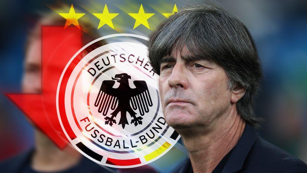 Joachim Löw rutscht mit dem DFB-Team in der Weltrangliste ab. - Bildquelle: getty