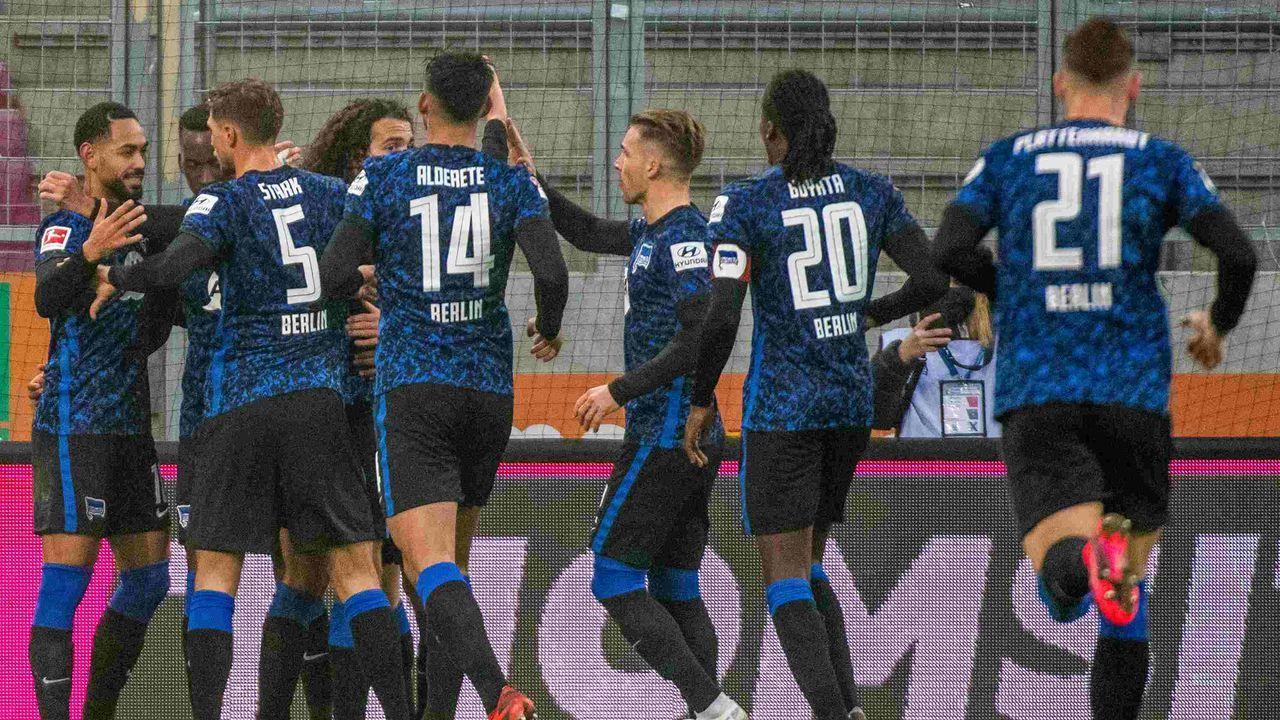 Platz 7: Hertha BSC - Durchschnittlicher Tabellenplatz der Gegner: 8,5  - Bildquelle: getty