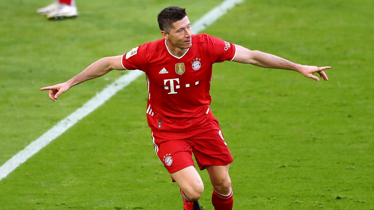 Kategorie: Bundesliga-Tore in einer Saison - Bildquelle: 2021 Getty Images