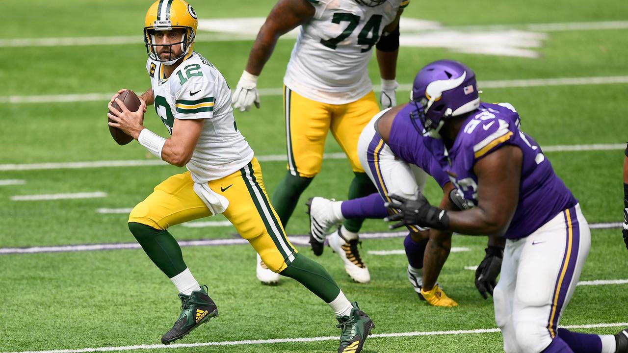 Platz 2: Aaron Rodgers - Green Bay Packers (Letzte Platzierung: 2) - Bildquelle: Getty Images