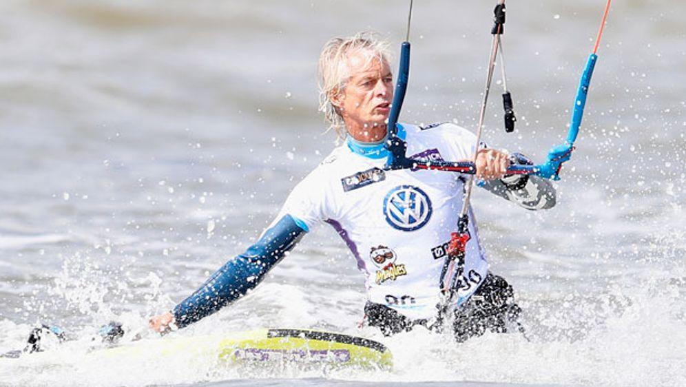 Europameister Mario Rodwald schaffte in ST. Peter Ording den Einzug ins Acht... - Bildquelle: getty