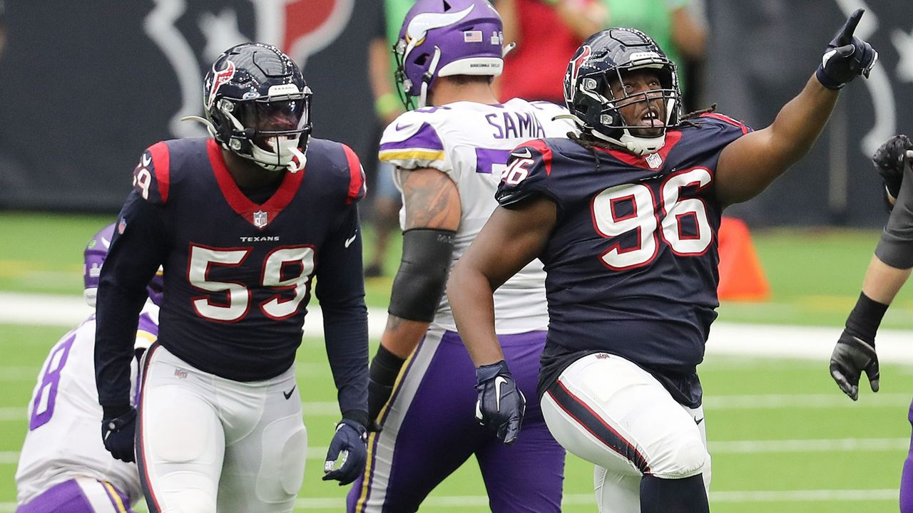 P.J. Hall (Houston Texans) - Bildquelle: 2020 Getty Images