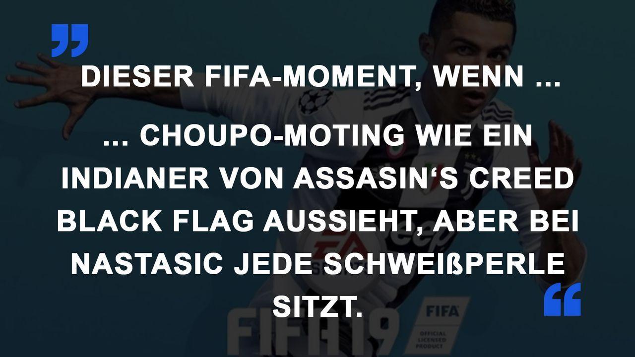 FIFA Momente Spieler Aussehen