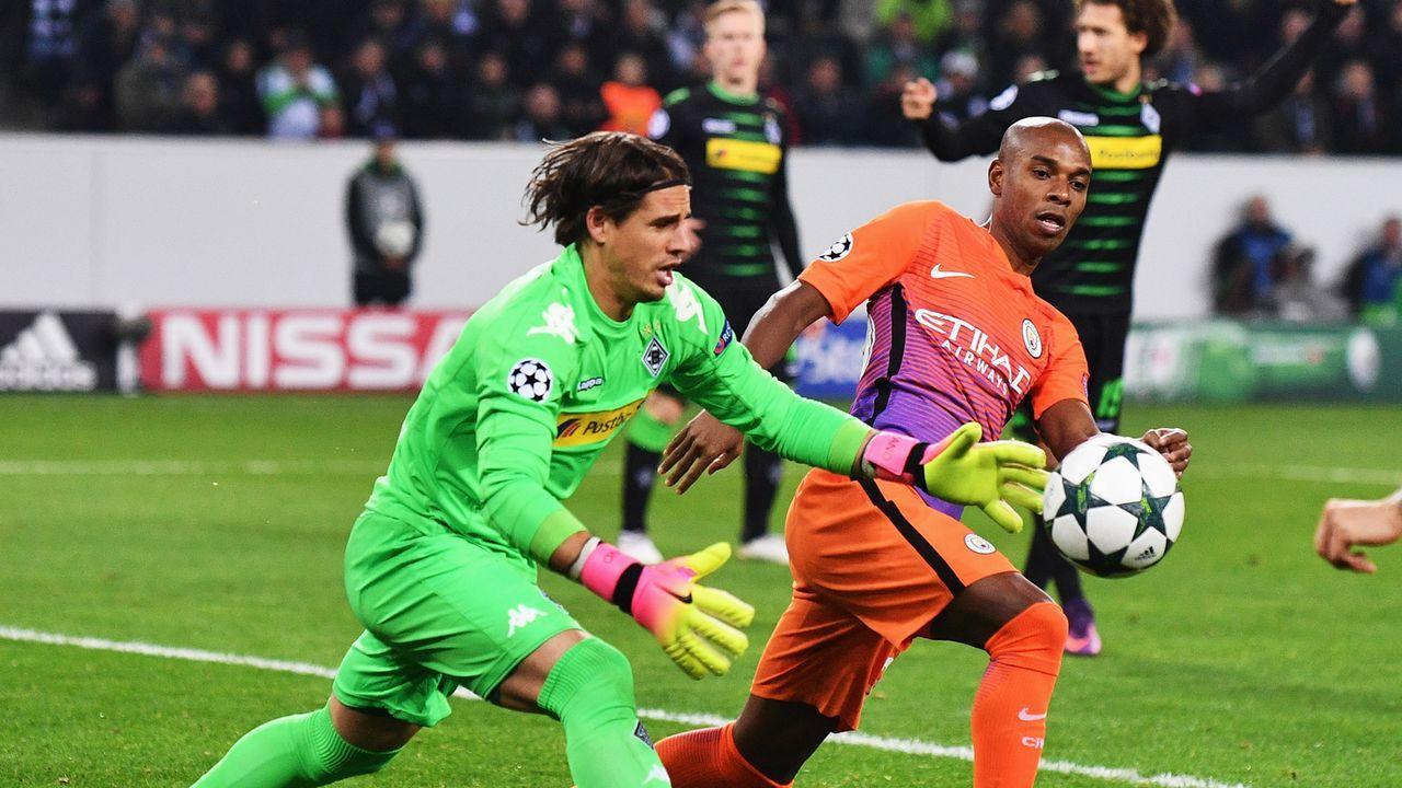 Borussia Mönchengladbach - Manchester City - Bildquelle: getty