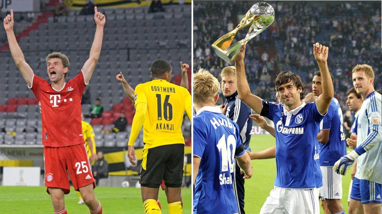 So liefen die Supercup-Duelle seit 2010 - Bildquelle: Imago Images