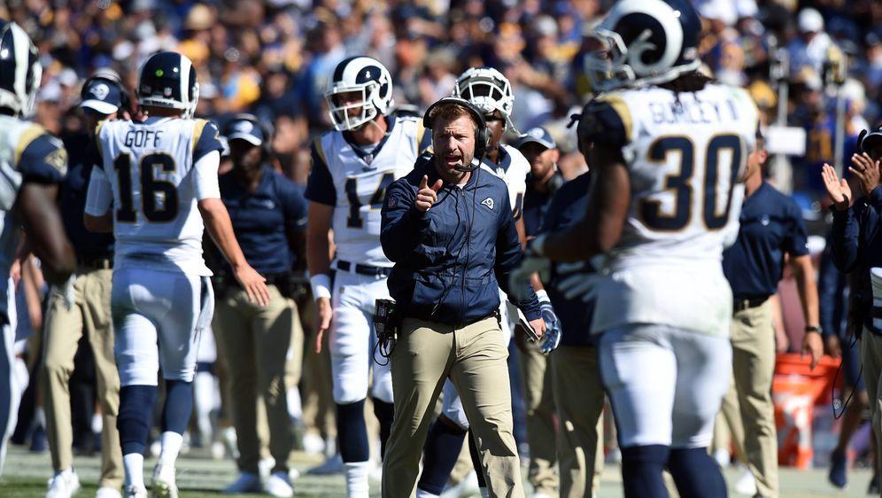 Sean McVay und die Rams: Auf Erfolgskurs. - Bildquelle: imago/Icon SMI