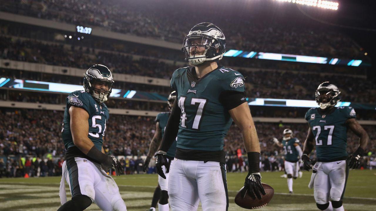 13. Philadelphia Eagles - Bildquelle: 2018 Getty Images