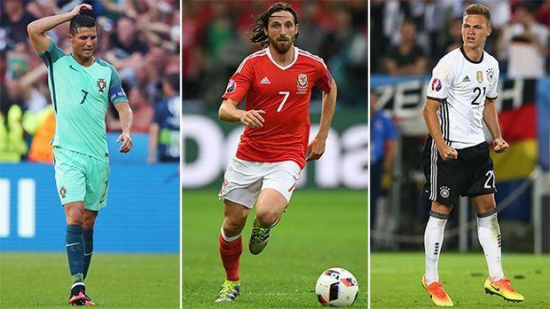 Die UEFA-Top-Elf der EM