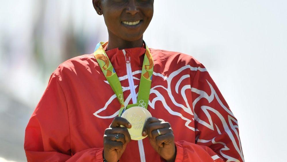 Silbermedaillengewinnerin Kirwa für vier Jahre gesperrt - Bildquelle: AFPSIDArchivFabrice COFFRINI