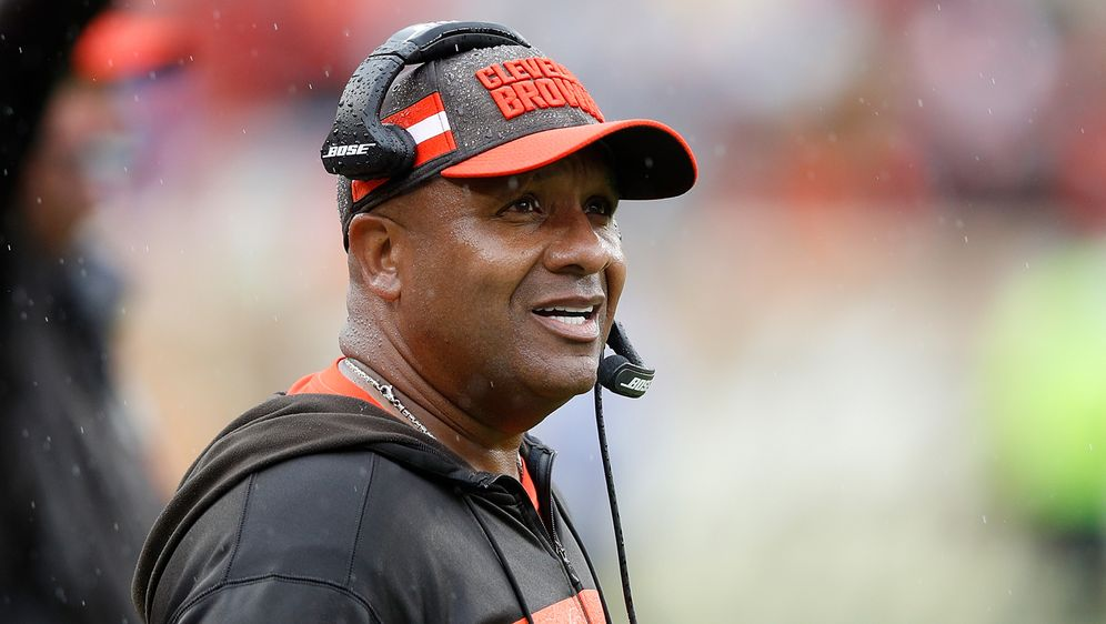 Hue Jackson ist nicht mehr Head Coach der Cleveland Browns. - Bildquelle: 2018 Getty Images