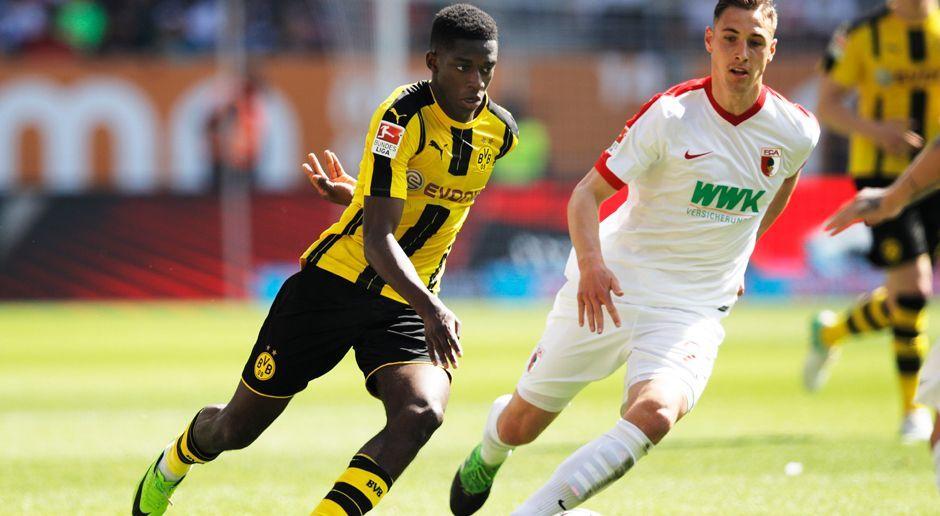 2016 - Ousmane Dembele zu Borussia Dortmund (15 Mio.) - Bildquelle: 2017 Getty Images