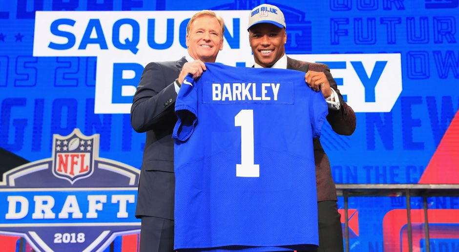 2. Pick - New York Giants: RB Saquon Barkley - Bildquelle: getty