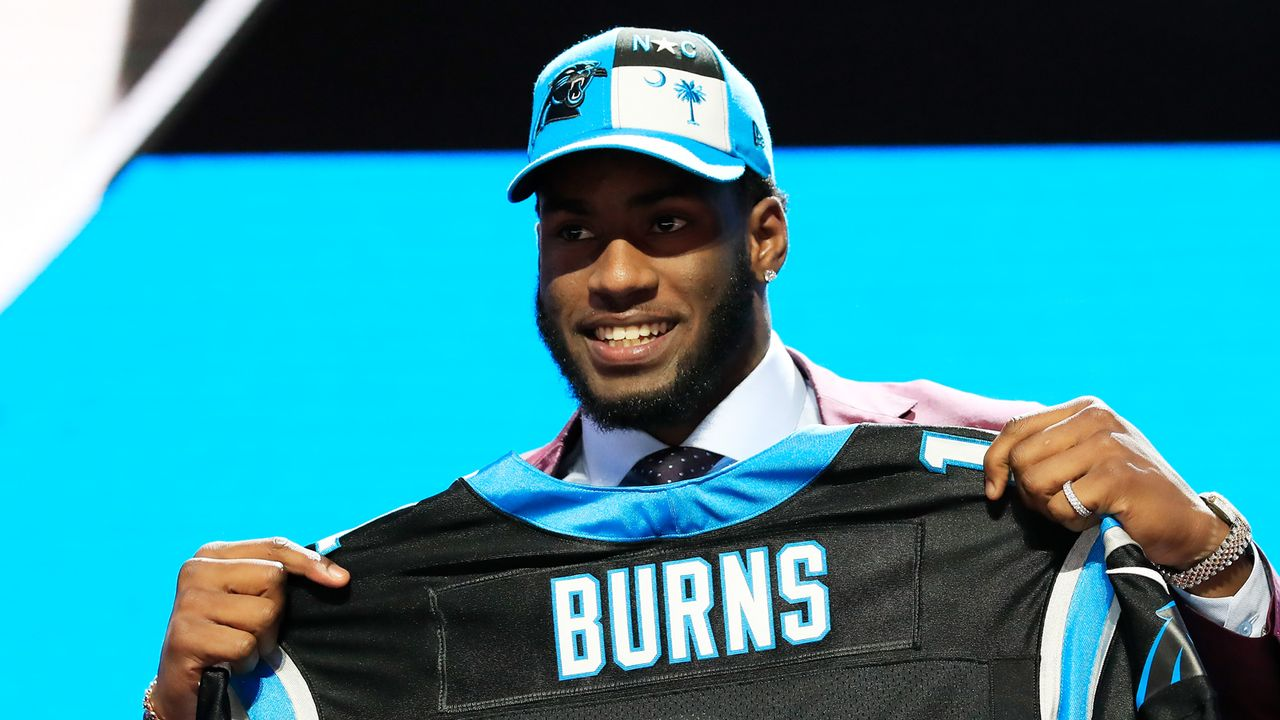 16. Pick - Carolina Panthers: DE Brian Burns (Florida St.) - Bildquelle: 2019 Getty Images