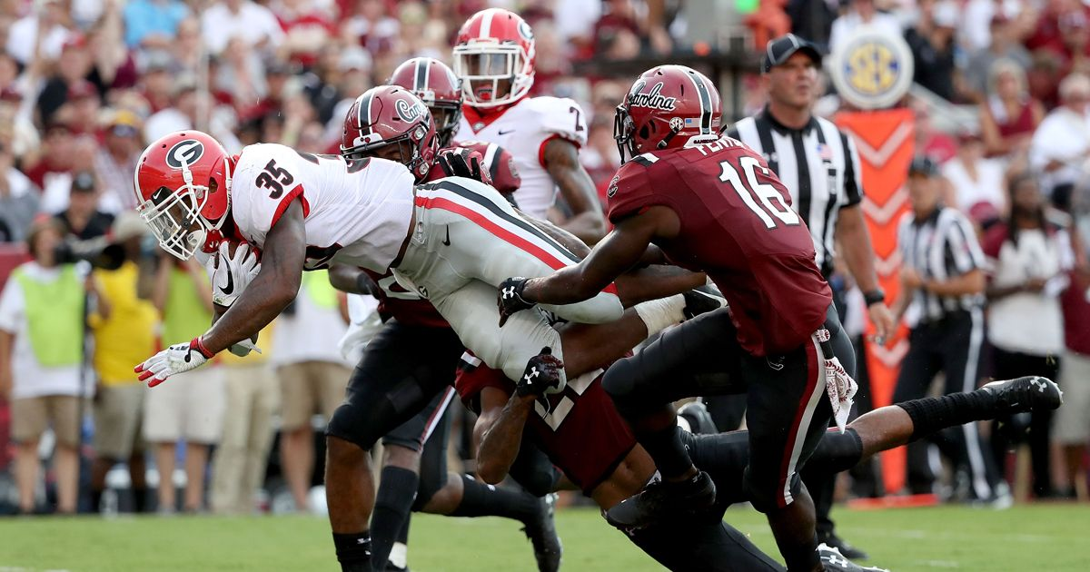 South Carolina Gamecocks - Georgia Bulldogs - Bildquelle: 2018 Getty Images