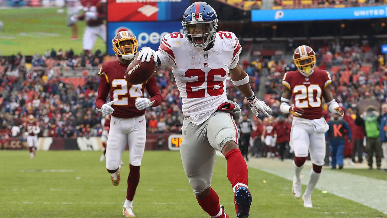 Running Back: Saquon Barkley (New York Giants) - Bildquelle: Getty