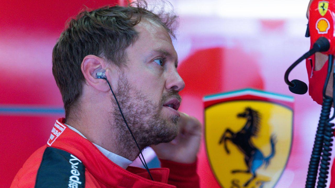 Keine Balance, wenig Speed - die Probleme des Ferrari - Bildquelle: HOCH ZWEI/Pool/COLOMBO IMAGES