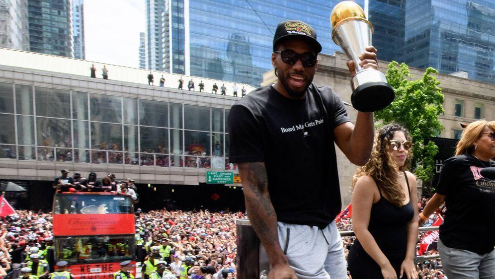 Kawhi Leonard verschob mit seinem Wechsel die Machtverhältnisse der NBA. - Bildquelle: imago