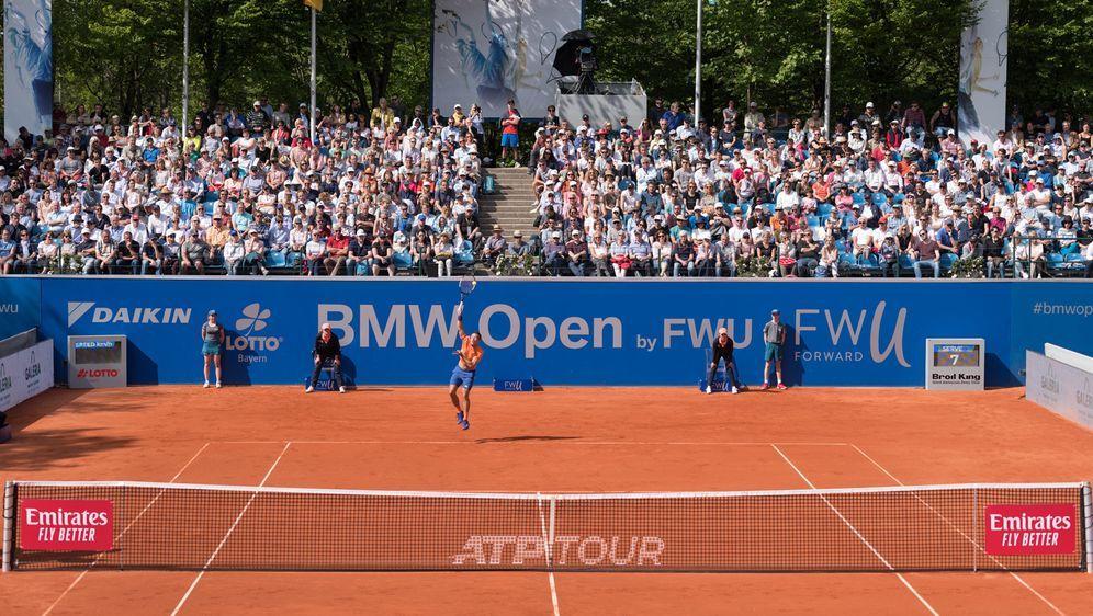 Die BMW Open werden auf der Anlage des MTTC Iphitos München ausgetragen. - Bildquelle: imago images/Passion2Press
