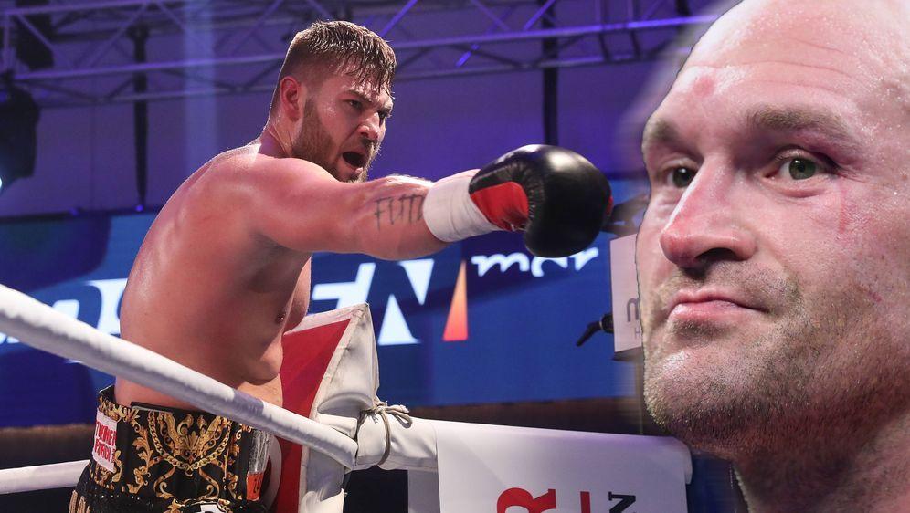 Tom Schwarz trifft am 15. Juni in Las Vegas auf Tyson Fury. - Bildquelle: imago / Getty Images