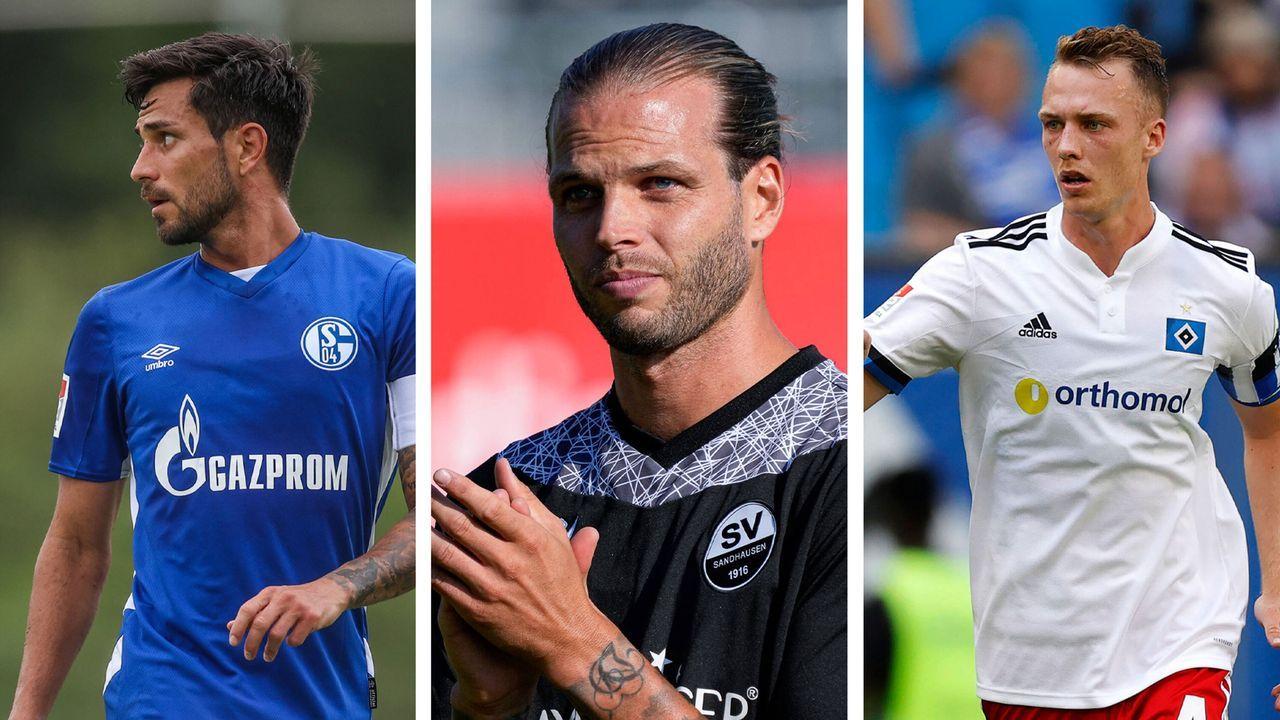 Die Kapitäne in der 2.Bundesliga für die Saison 2021/22 - Bildquelle: Imago Images