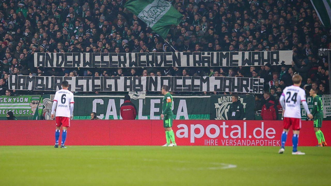 24. Februar 2018: Bremen - Hamburg 1:0 (0:0)  - Bildquelle: imago