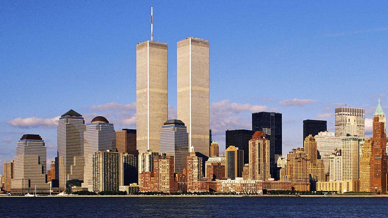 """Die """"Twin Towers"""" in New York stehen noch - Bildquelle: imago/blickwinkel"""