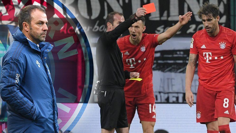 Nach vier Siegen zu Null kassierte Bayern unter Trainer Flick zwei Niederlag... - Bildquelle: 2019 imago