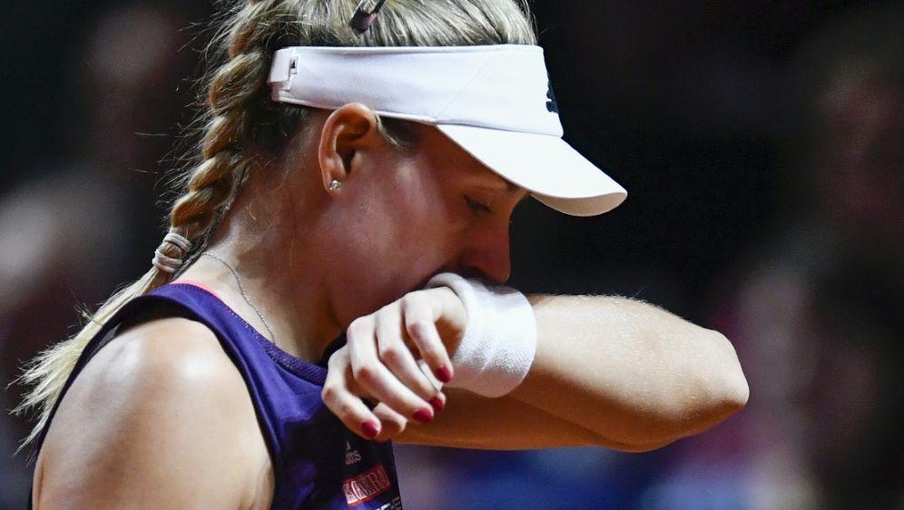 Kerber wird beim WTA-Turnier in Rom nicht antreten - Bildquelle: AFPSIDTHOMAS KIENZLE