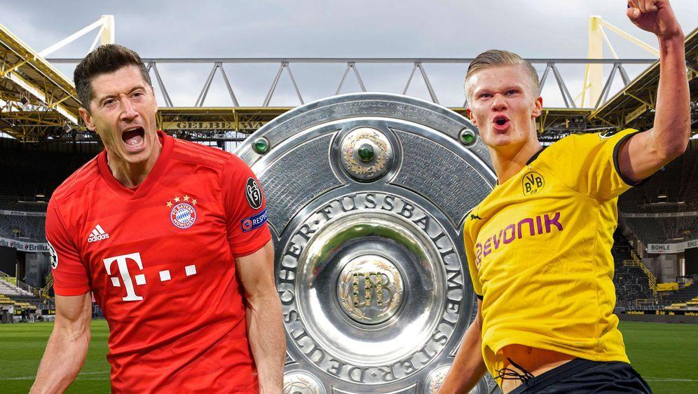 Borussia Dortmund gegen FC Bayern München: Das Spitzenspiel der Bundesliga a... - Bildquelle: getty