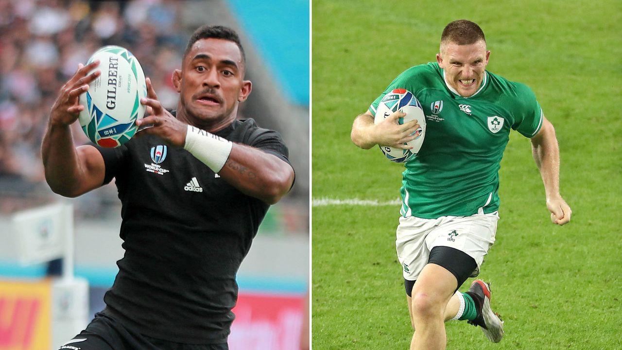 Neuseeland vs. Irland (Samstag ab 12:15 Uhr live auf ProSieben MAXX) - Bildquelle: Getty