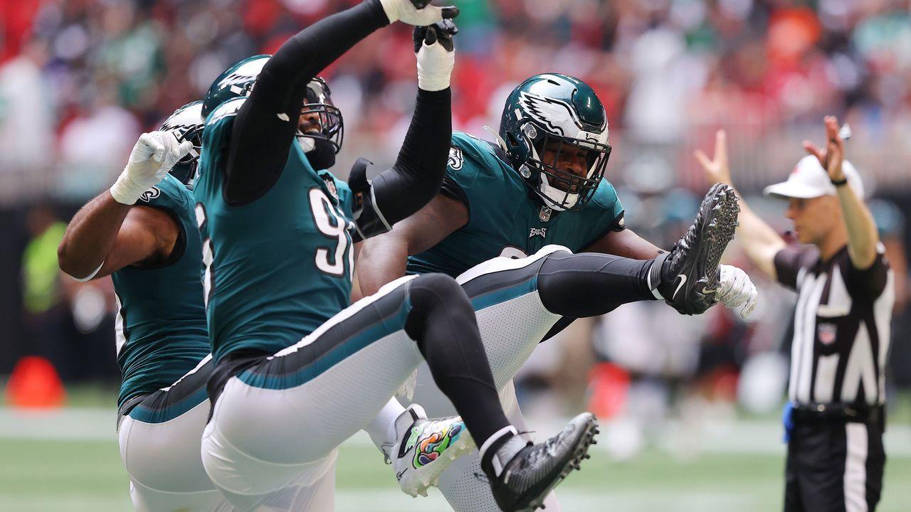 Platz 10: Philadelphia Eagles - Bildquelle: 2021 Getty Images