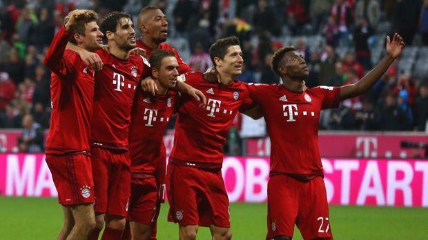 Bayern München - Bildquelle: 2015 Getty Images
