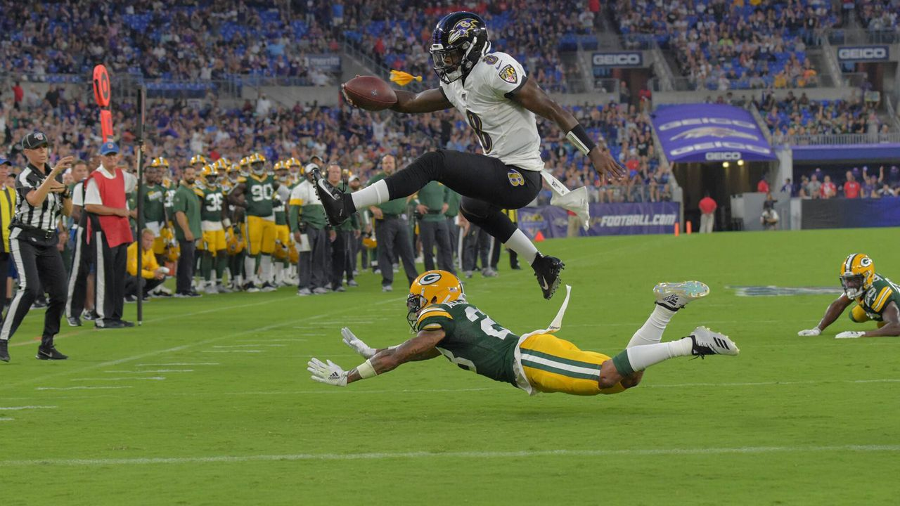 Baltimore Ravens vs. Green Bay Packers - Bildquelle: imago