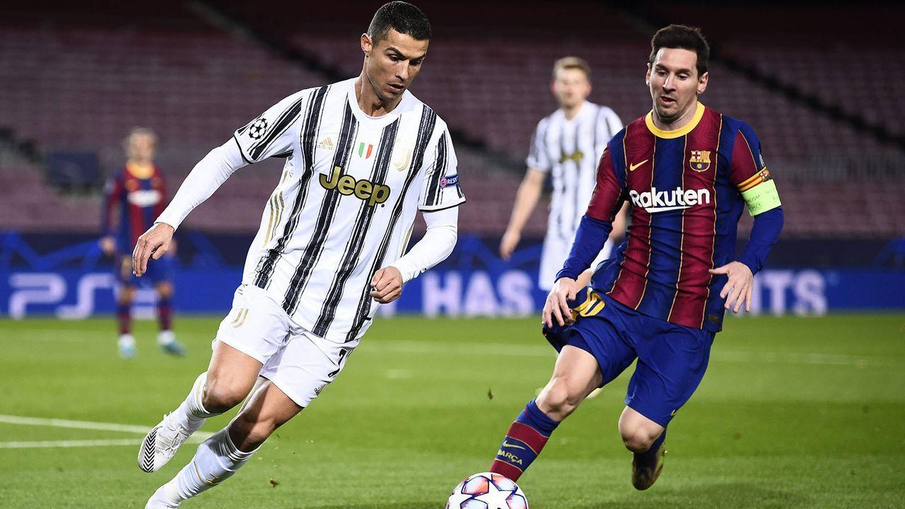 Cristiano Ronaldo (Juventus Turin) und Lionel Messi (FC Barcelona) - Bildquelle: imago images/Gribaudi/ImagePhoto