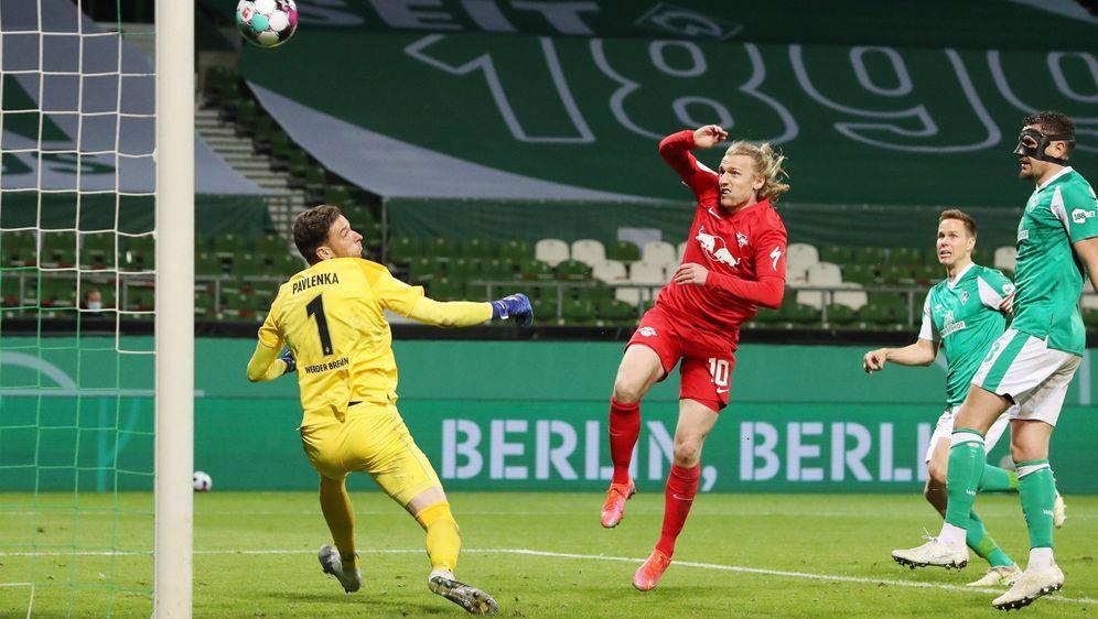 RB Leipzig steht erneut im Pokalfinale - Bildquelle: Imago