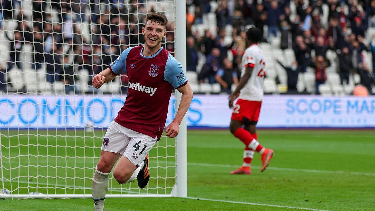 Declan Rice (West Ham United) - Bildquelle: imago images/Pro Sports Images