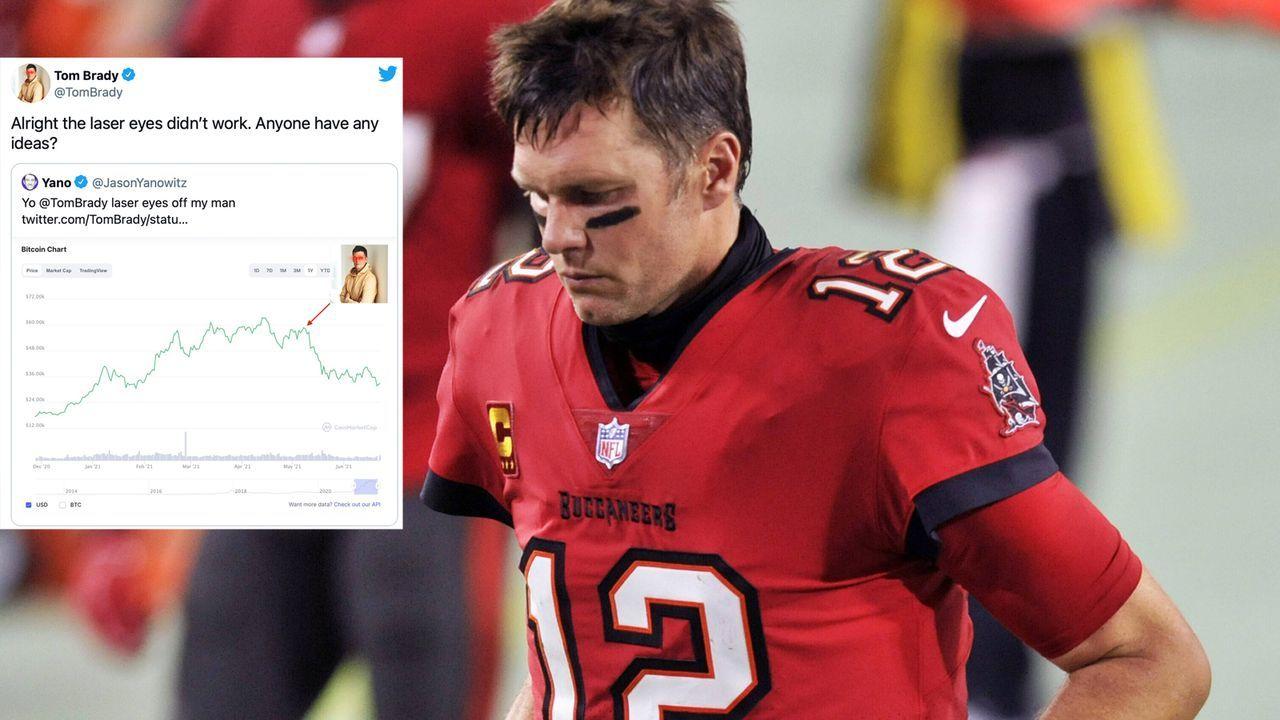 """Tom Brady und der Bitcoin-Crash: """"Jemand eine Idee?"""" - Bildquelle: imago images/UPI Photo"""