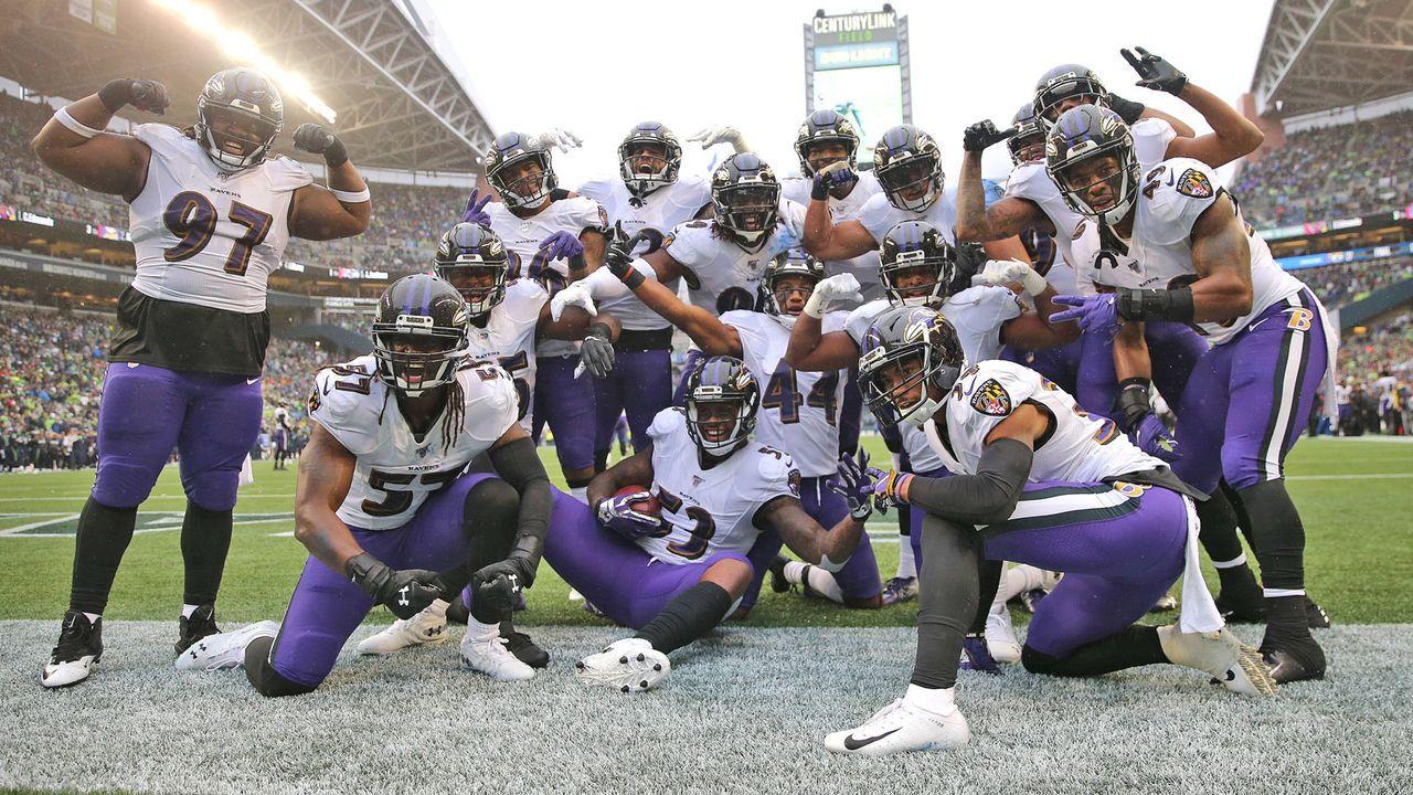 AFC: 2. Baltimore Ravens (aktuell 6-2) - Bildquelle: 2019 Getty Images